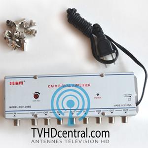 pre amplificateur  repartiteur amplificateur de signal